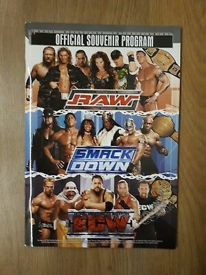 WWE Official Souvenir Programme *Signed* by Orton,Kane,Candice,Regal & Grisham