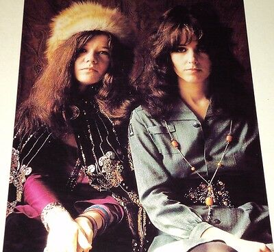 Janis Joplin & Grace Slick /  8 X 10  Color  Photo