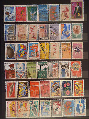Timbres Tchad 3