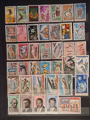 Timbres Tchad 4