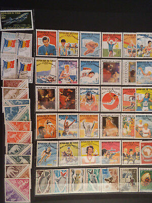 Timbres Tchad 6