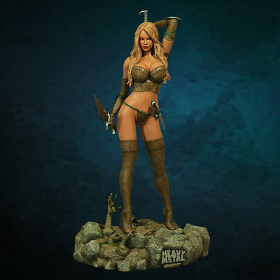 ★ Statue Heavy Metal: Into The Fog - Statuette Hollywood Collectibles -En Stock★