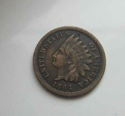 Us Indian Cent 1864