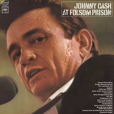 Johnny Cash - At Folsom Prison - Vinyl Lp - New
