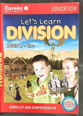 Let's Learn Division Maths with Swords Jousting Knights Dragons Age 8-12 Win 7