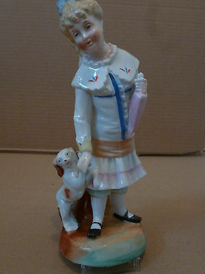 Vintage china figurine. Marked with a 'Y' and pattern number 36.
