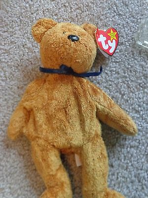 6d879c95978 TY RARE Fuzz Beanie Baby with MULTIPLE Tag Errors. NEW  100.00 ...