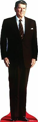 #572 President Ronald Reagan Cardboard Cut-out Lifesize