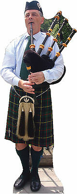 #864 Bagpipes Players Height approx. 180cm Cardboard cut-out