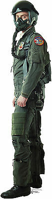 #735 Fighter Pilot Height ca.178cm Figurine