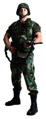 SC-388 US Soldier Cut-out Cardboard cut-out Lifesize