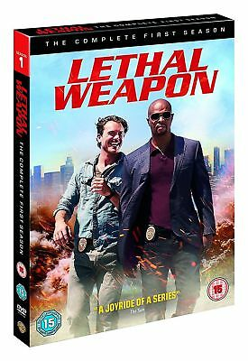 Lethal Weapon Complete Season 1 DVD - Freepost - Region 2 UK - New/Sealed
