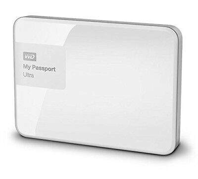 "Western Digital My Passport Ultra 3TB 2,5"" USB3 WDBBKD0030BWT externe HDD Weiß"