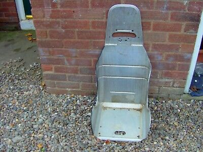 Lightweight Alloy Kirky Seat Size Is 15.5 Inchs Ideal Autograss /banger Racing