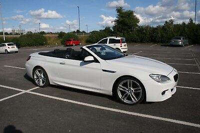 "2013 BMW 640d M Sport / 20"" Wheels / Soft Close / DAB / Convertible"