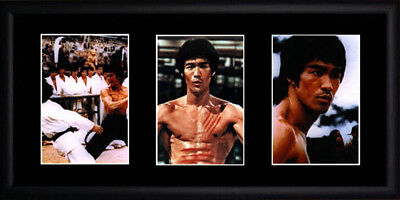 Bruce Lee : Enter the Dragon - Framed Photograph - 43.5cm x 21.5cm