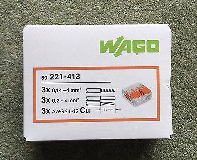 WAGO connectors, new and boxed