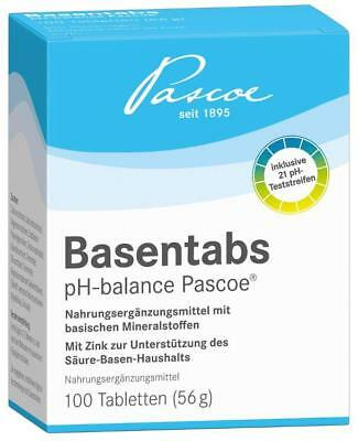 Basentabs pH-balance Pascoe® Tabletten 100St PZN: 2246478