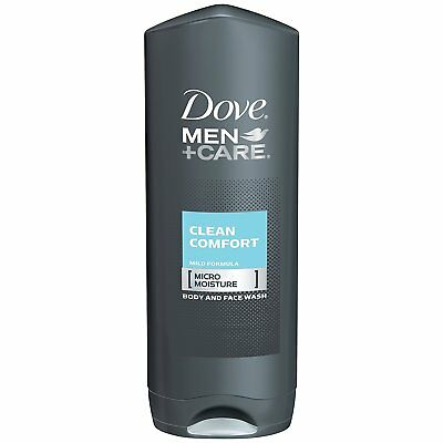 Dove Men+Care Body And Face Wash, Clean Comfort - 18 Ounce