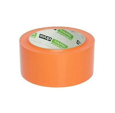 6x Asup TAPE PREMIUM Gewebeklebeband 48 mm x 50 m orange Panzerband
