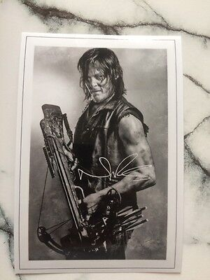 Norman Reedus Printed Photo 6x4