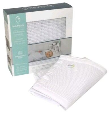 Safe Dreams babybundle Cot Wrap 2-sided Maximum Airflow Breathe 2 sided cot beds