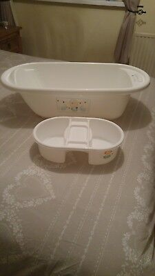 Mothercare baby bath and top & tail basin