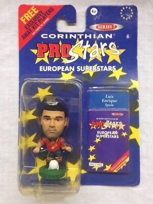 CORINTHIANS PROSTARS FOOTBALL FIGURE BLISTER PACK Luis Enrique Spain PRO242