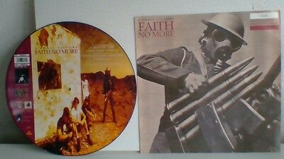 """Faith No More A Small Victory Special Edition 12"""" Picture Vinyl Single.  Mint"""
