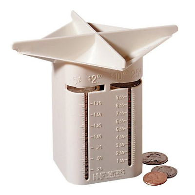 Coin Sorter Money Counter Machine Change Count Sort Stack Wrapper Business Coins