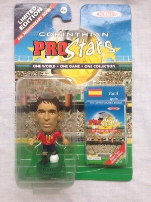CORINTHIANS PROSTARS FOOTBALL FIGURE BLISTER PACK Raul Spain PRO335