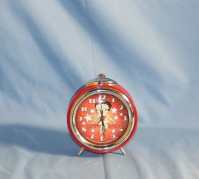 King Features Syndicate Fleischer Studios Betty Boop Table Top Alarm Clock
