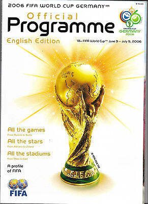 2006 FIFA WORLD CUP (Germany) - Official Programme Group Stage (English edition)