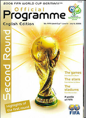 2006 FIFA WORLD CUP (Germany) Official Programme Second Round (English edition)