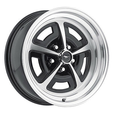 "Legendary Wheel Co. LW50-70854A Mustang Magnum 500 Alloy Wheel 17""x8"" Gloss Blac"