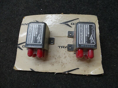 Lot of 2 Transco 82152 700C70200 RF Switch Transfer Latching XMSN Line 28VDC NEW