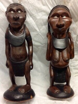 Carved figures Papua New Guinea , large ,decor , display