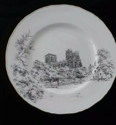 "Royal Worcester plate (York Minster) 11"" (28cm)"