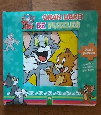 Libro Puzzles Tom & Jerry