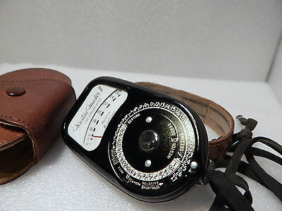 1 CINE EXPOSURE METER WESTON MASTER II MODEL N.S141/736 USATO COME da FOTO