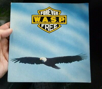 "wasp 7"" single forever free vinyl record"