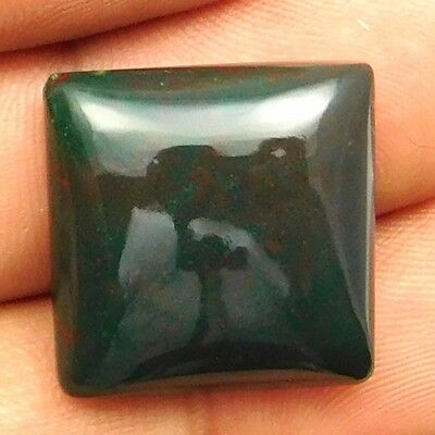 23.50 cts Natural Bloodstone Gemstone Cushion Shape Loose Cabochon For Jewelry