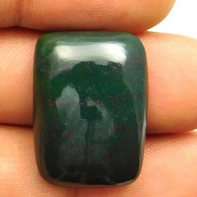 28.40 cts Natural Bloodstone Gemstone Octagon Shape Loose Cabochon For Jewelry