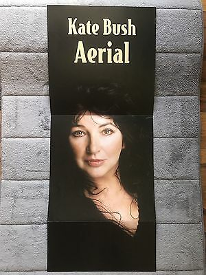 Kate Bush Aerial RARE promo 12 x 12 double fold-out poster flat '05