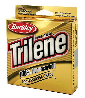 New Trilene 100% Fluorocarbon Fishing Line 100M & 200M Spools Postage Free