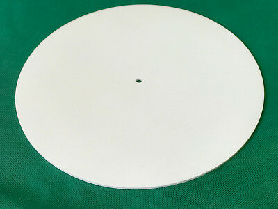 Silicone Rubber Turntable Mat 3mm Thick White