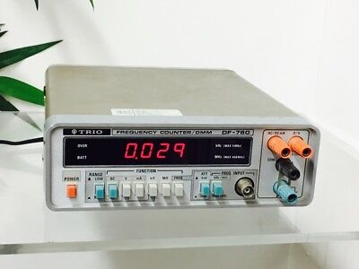 Trio Frequency  Counter/dmm Df-760