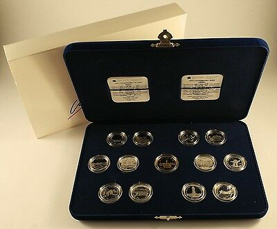 1992 Canada 125 Sterling Silver Coin Set