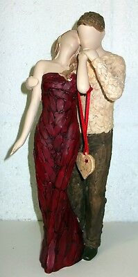 More Than Words I Love You Couple Figurine