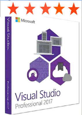 Microsoft Visual Studio Professional 2017 LifeTime License for Windows